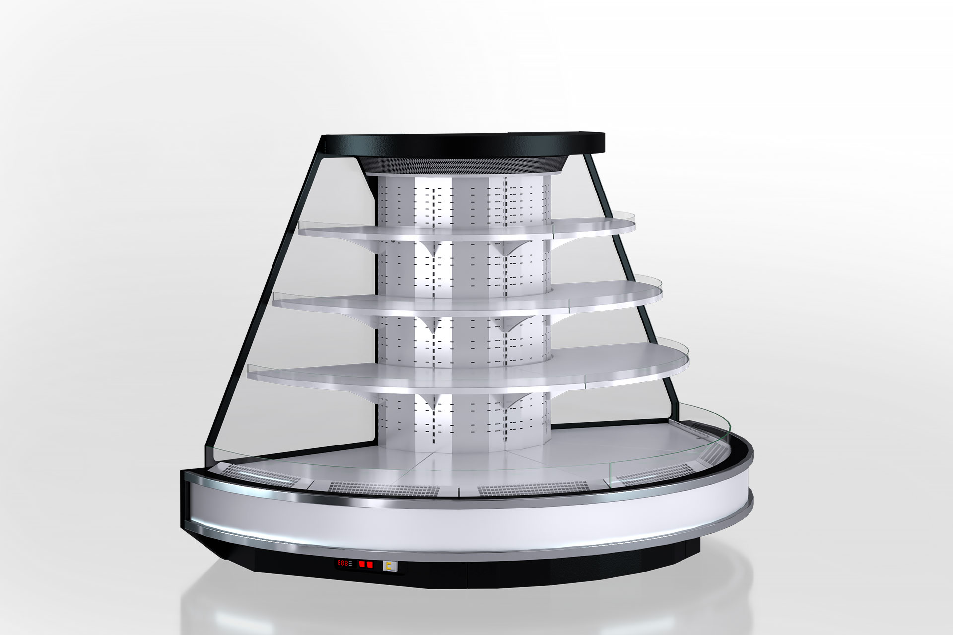 Холодильнные полувертикальные витрины Мissouri cold diamond island MV 110 deli self 150-DLM-TR220