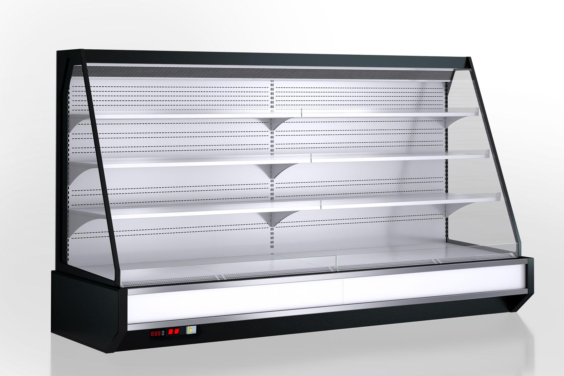 Холодильнные полувертикальные витрины Мissouri cold diamond island MV 087 deli self 150-DLM