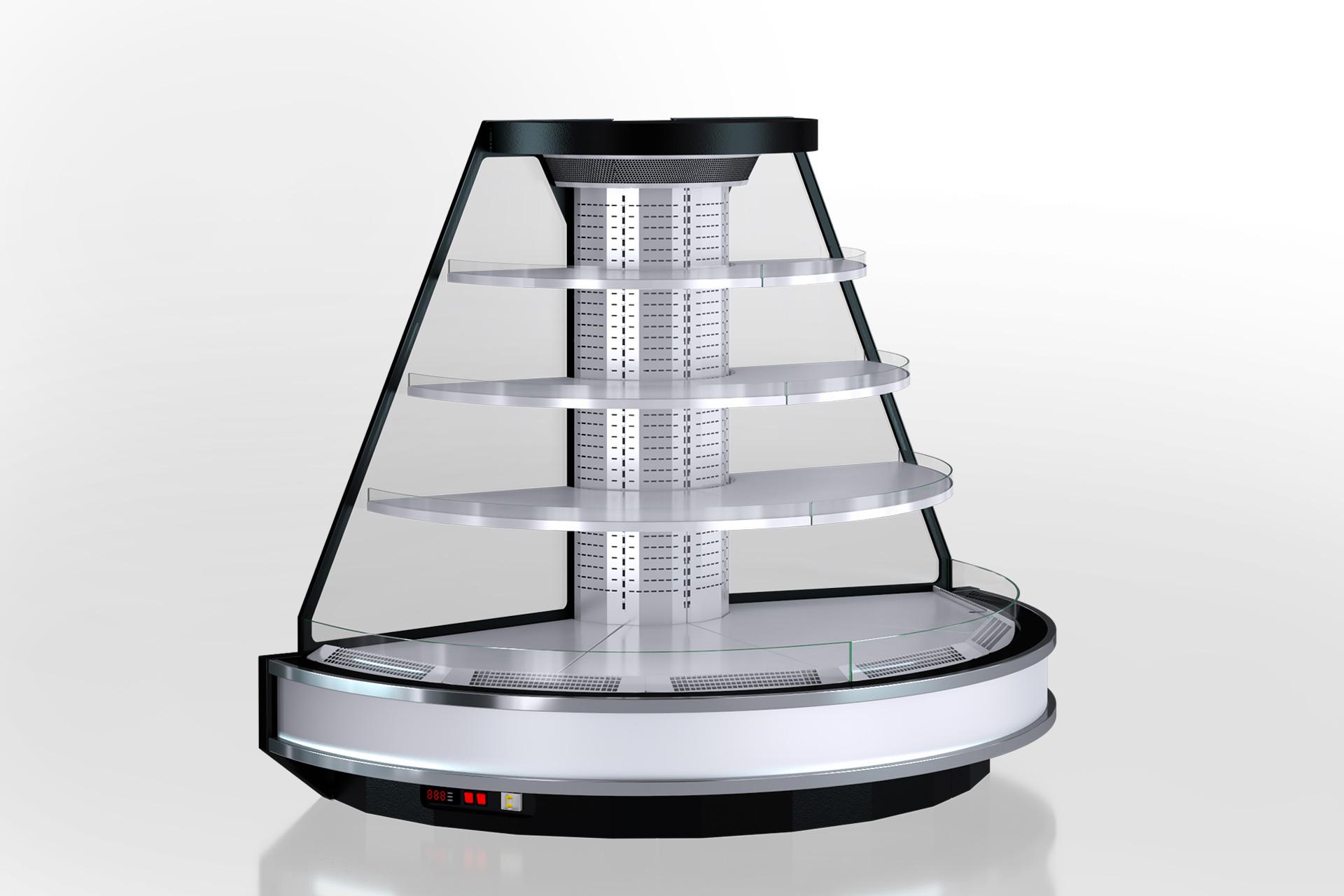 Холодильні напіввертикальні вітрини Мissouri cold diamond island MV 095 deli self 150-DLM-TR190