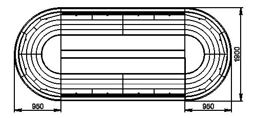 Холодильні напіввертикальні вітрини Мissouri cold diamond island MV 095 deli self 150-DLM - острівна версія