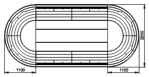 Semi-vertical cabinets Missouri cold diamond island 110 deli LF 150-DLM - island version (option)