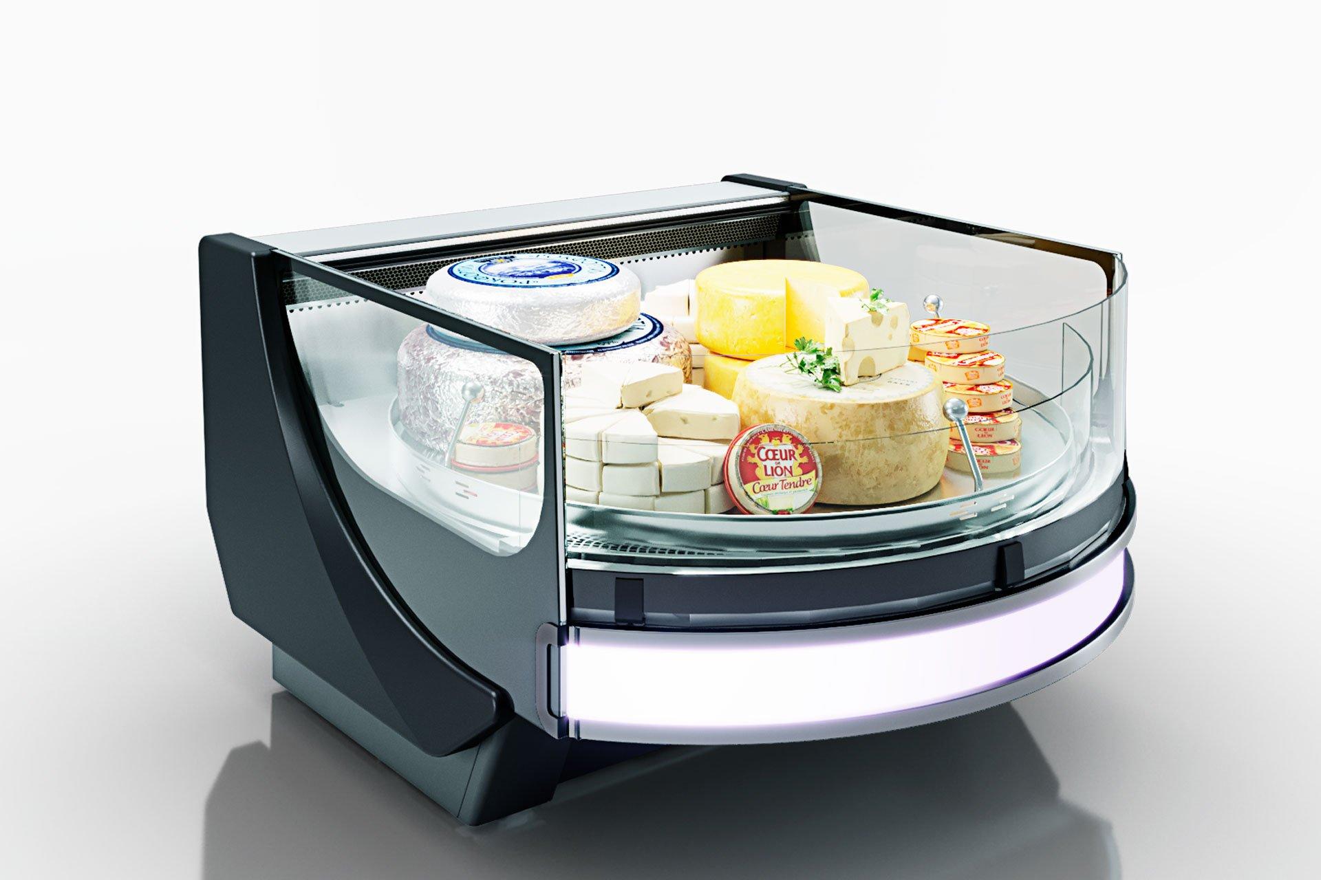 Холодильная витрина Missouri cold diamond MC 115 accent self 084-DLM/DLA