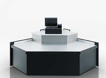 Missouri MC 120 cash desk angular elements