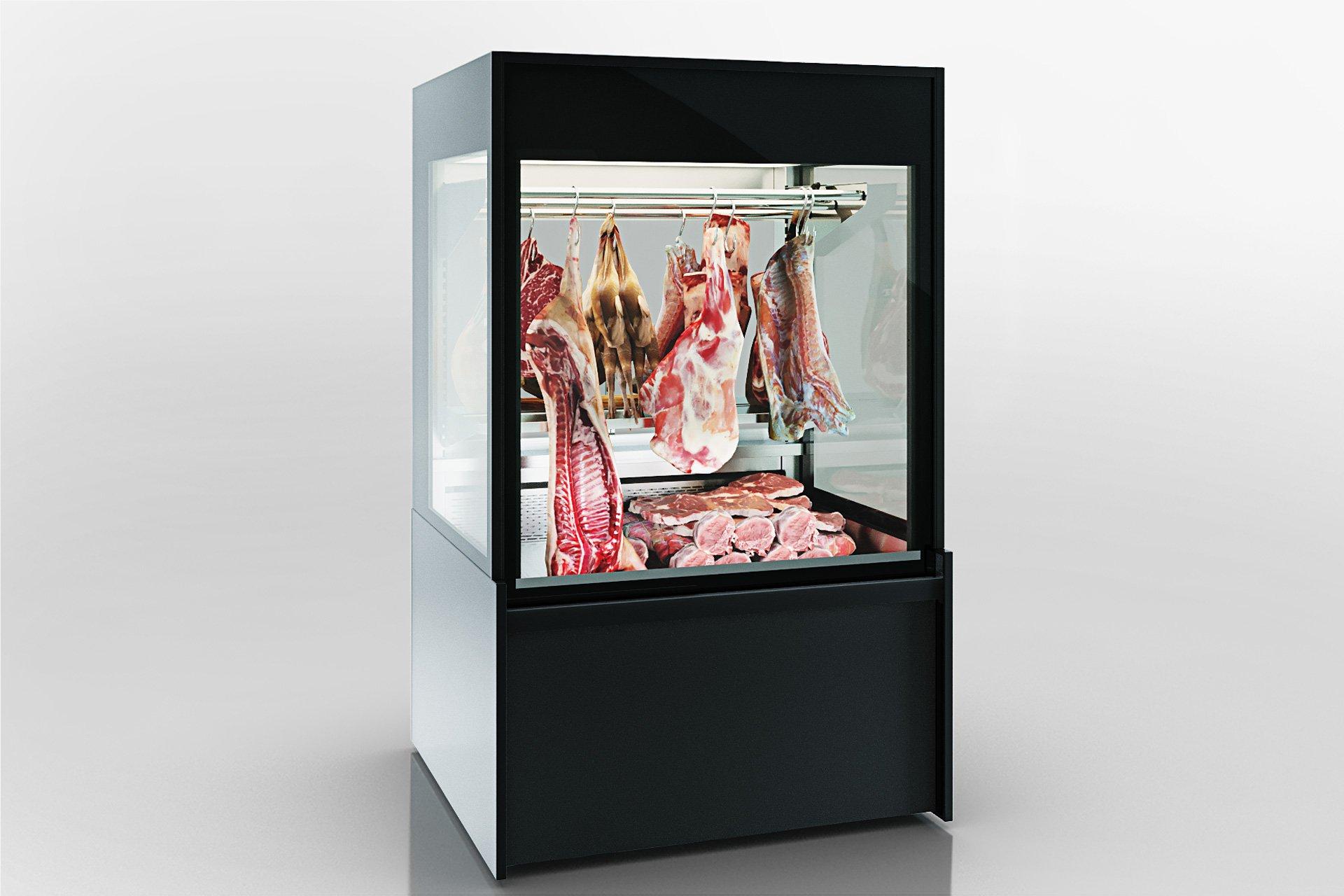 Специализированные витрины для продажи мяса Missouri MC 120 crystal S 203-D/DLM / D/DLA