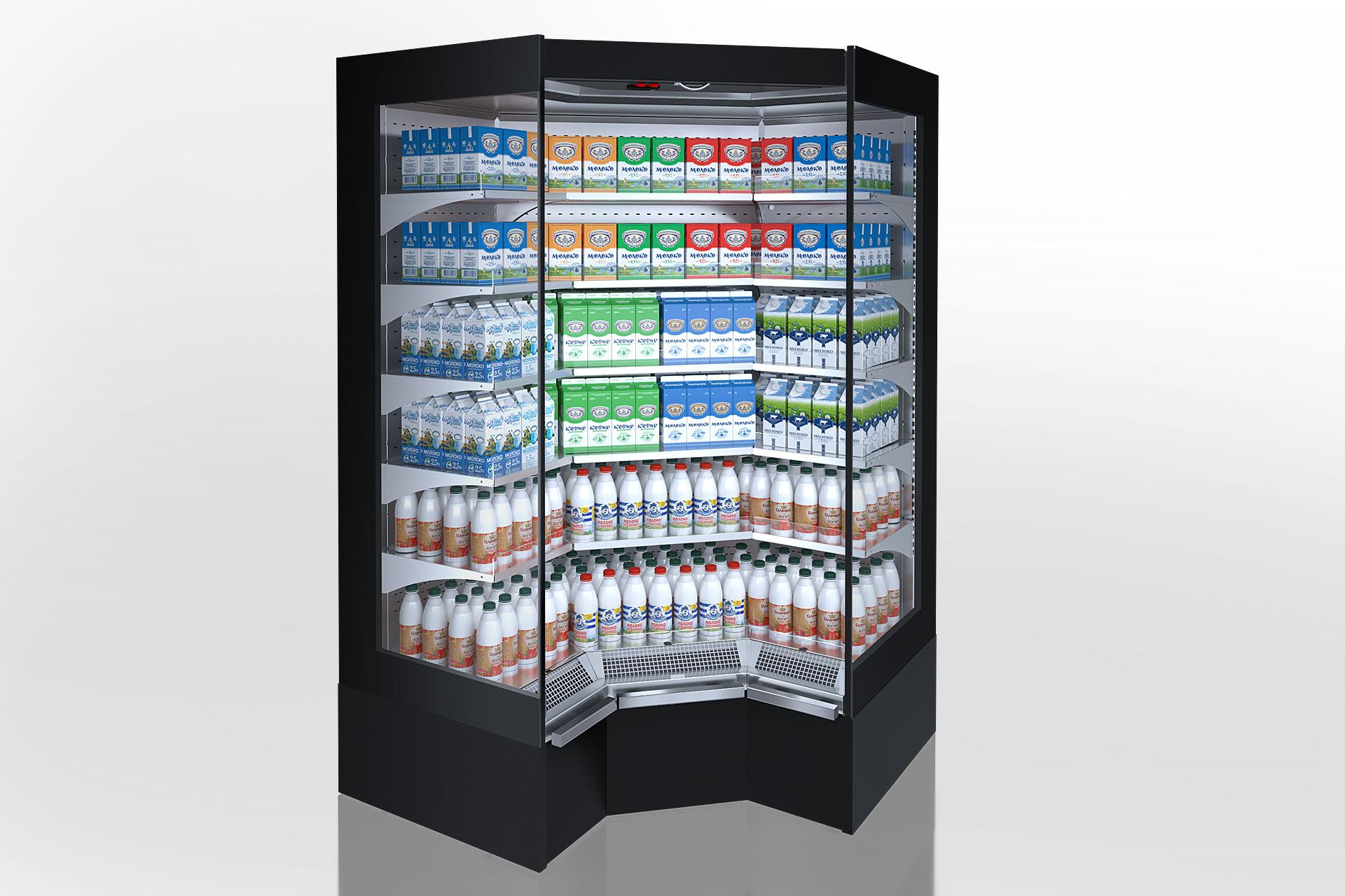 Multideck cabinets Indiana medium AV 070 MT O 210-DLM-IS90