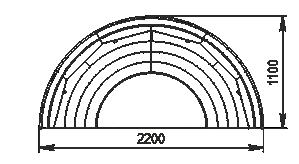 Semi-vertical cabinets Missouri cold diamond island 110 deli LF 150-DLM-TL