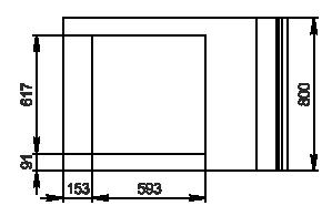 Kühlvitrinen Missouri NC 120 pan 2 PP 130