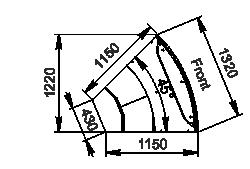 Counters Missouri cold diamond MC 115 deli PS 121-DLM-ER45
