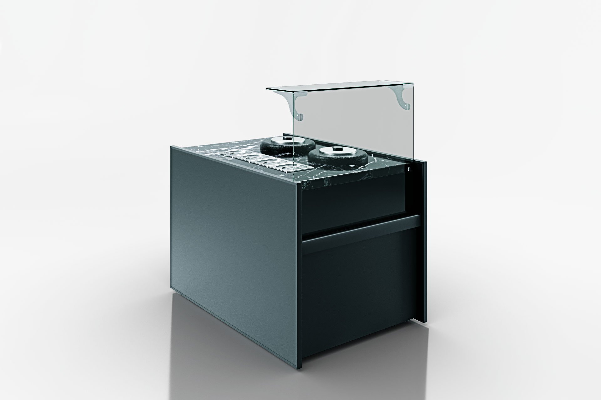 Refrigerated counters Missouri NC 120 tureen L 130