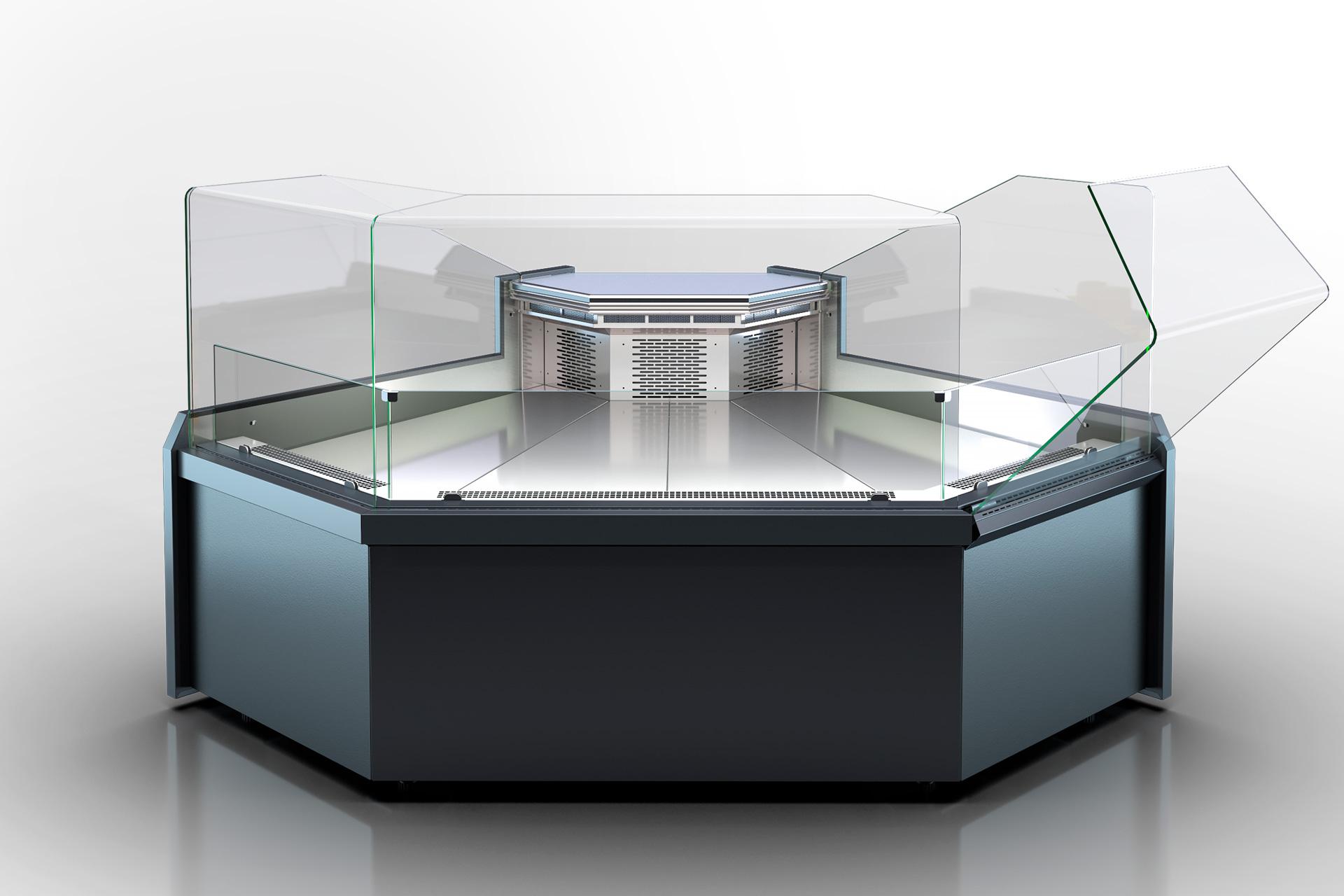 Угловые элементы холодильных витрин Missouri MC 120 deli OS 120-DLM-ES90