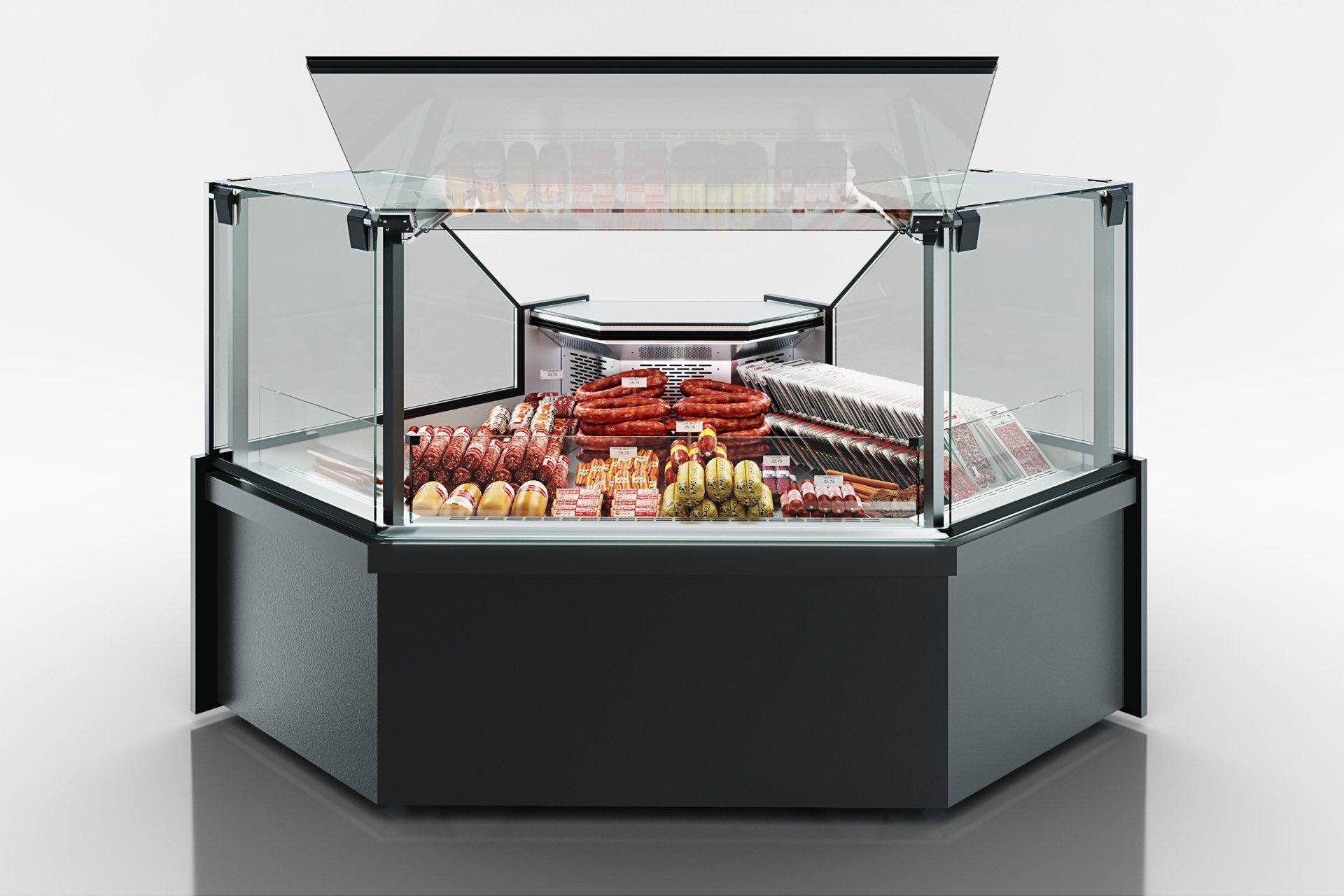 Угловые эленты холодильных витрин Missouri MC 120 deli PP 130-DLM-ES90