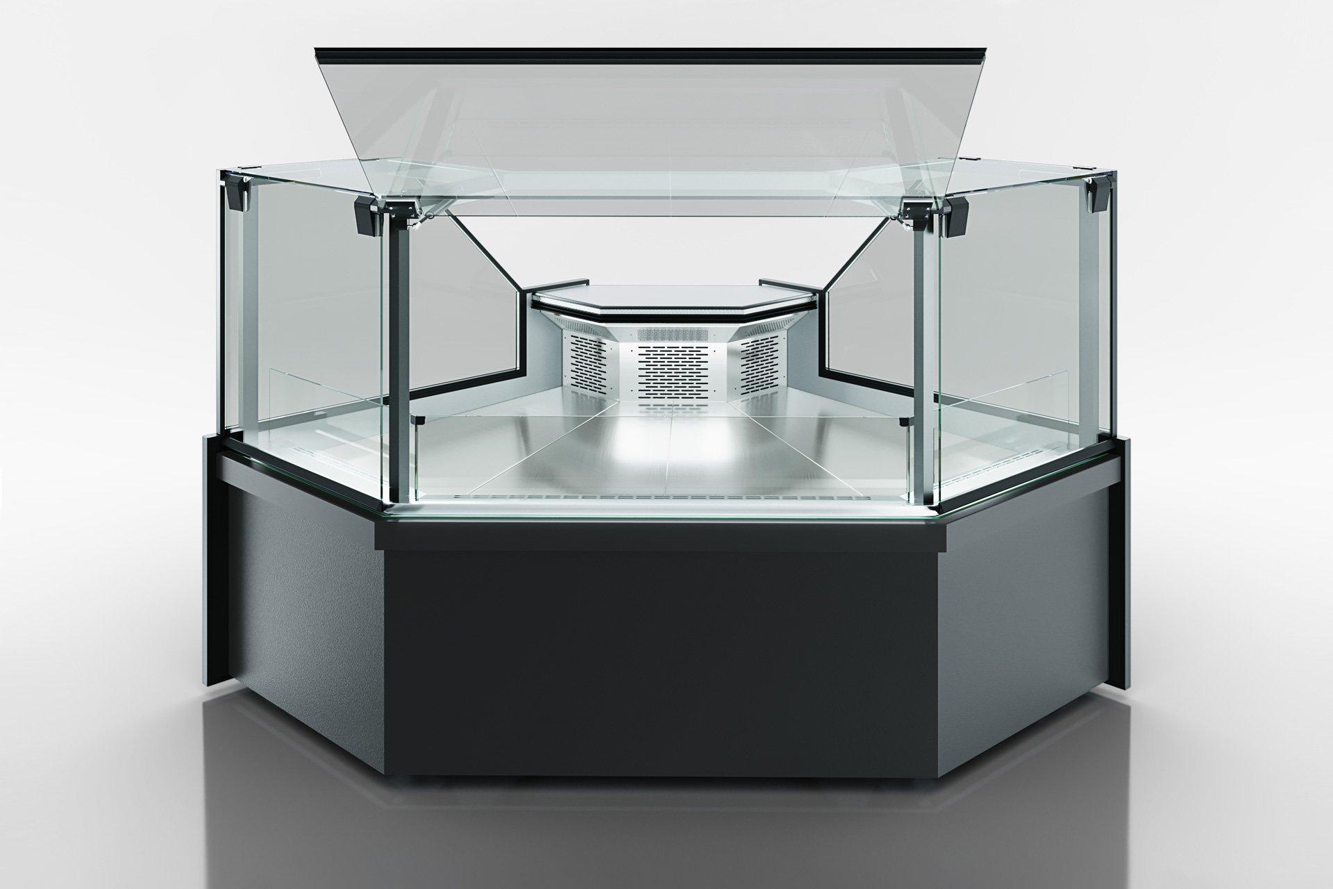 Угловые эленты холодильных витрин Missouri MC 120 deli PS 130-DLM-ES90