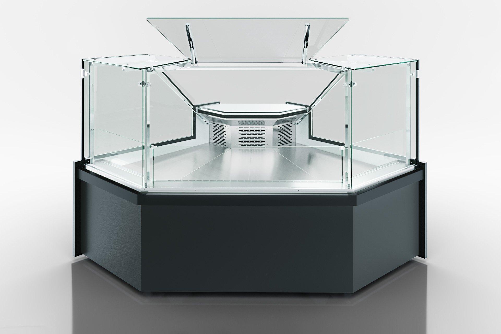 Кутові елементи холодильних вітрин Missouri MC 120 deli PP 130-DLM-ES90