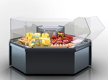 Кутові елементи холодильних вітрин Missouri MC 120 deli OS 2 130-DLM-ES90