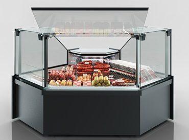 Кутові елементи холодильних вітрин Missouri MC 120 deli PS 130-DLM-ES90