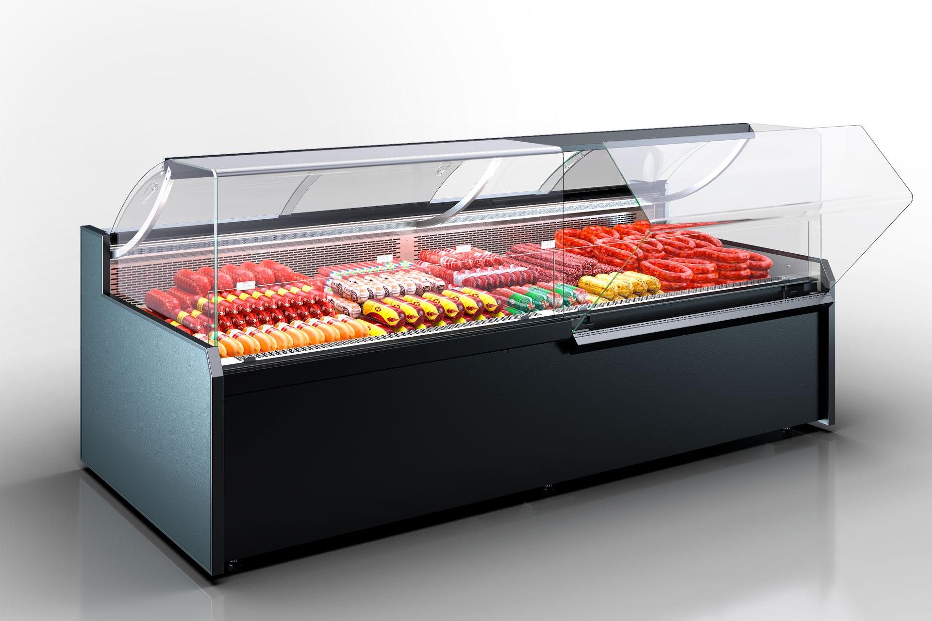 Kühlvitrinen Missouri MC 120 deli OS 120-DBM (option)