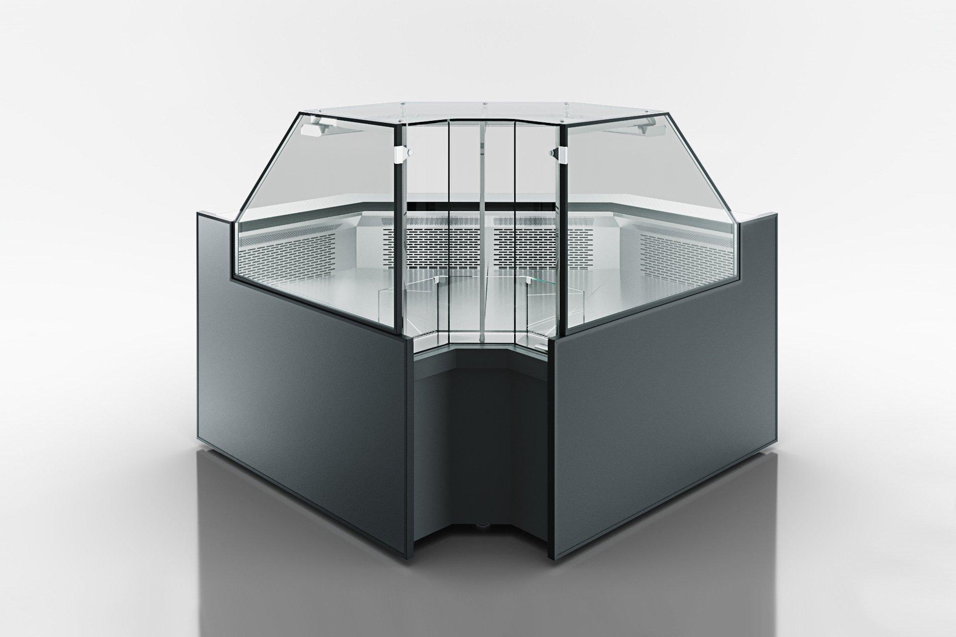Eckelemente der Kühlfenstern Missouri MC 120 deli PP 130-DLM-IS90