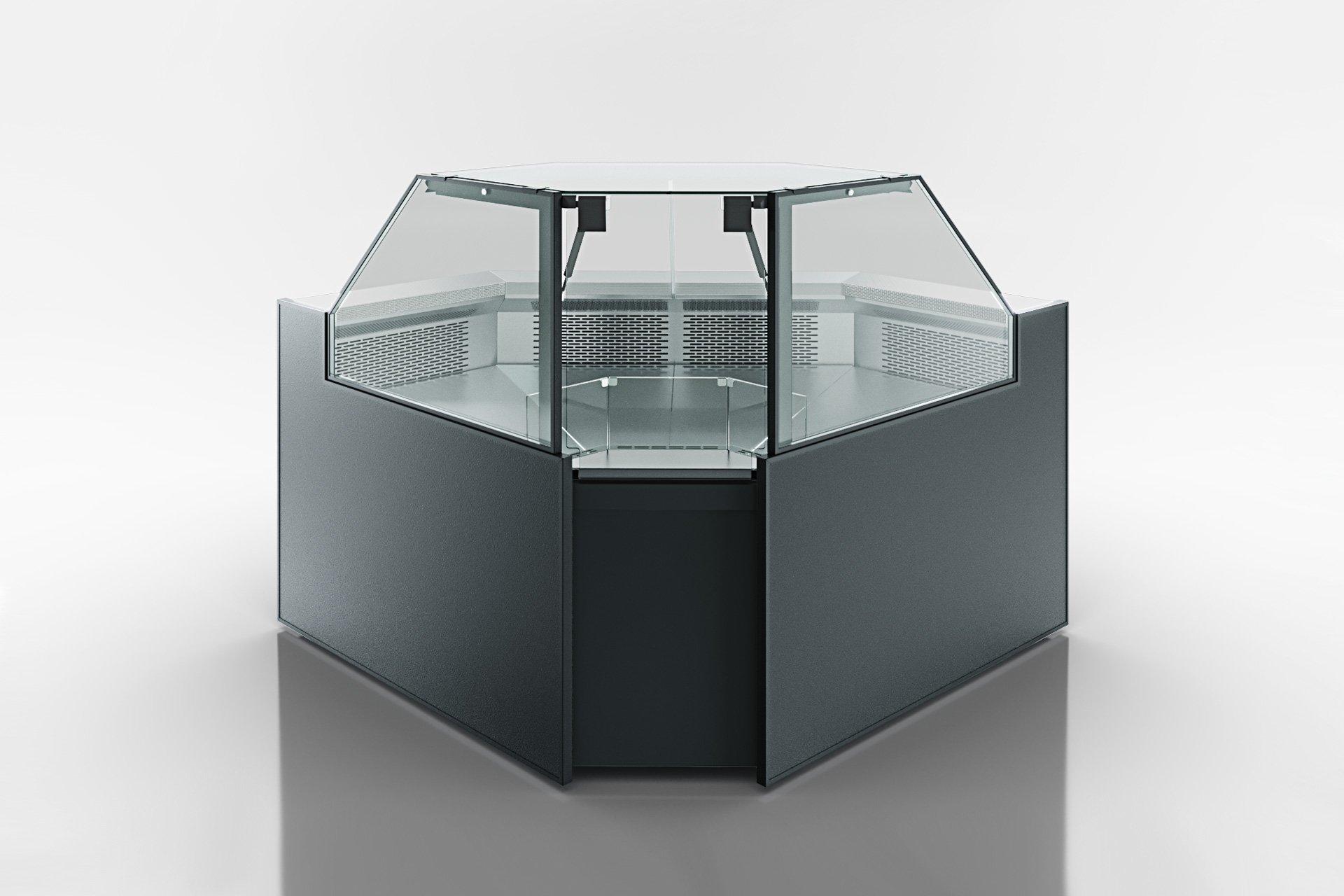 Eckelemente der Kühlfenstern Missouri MC 120 deli PS 130-DBM-IS90