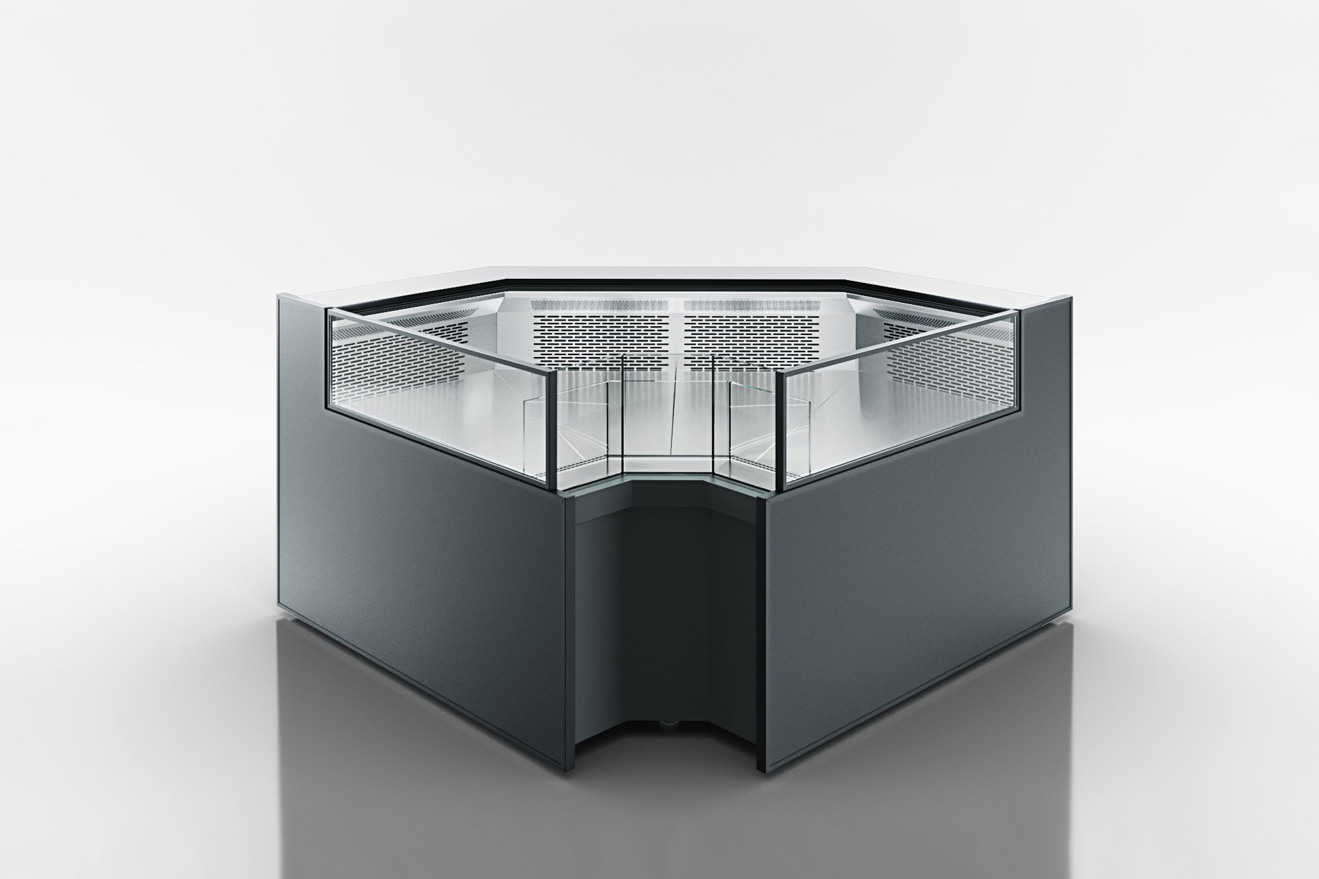 Eckelemente der Kühlfenstern Missouri MC 120 deli self 086-DLM-IS90