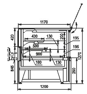 Kühlvitrinen Missouri NC 120 heat VS PS 130