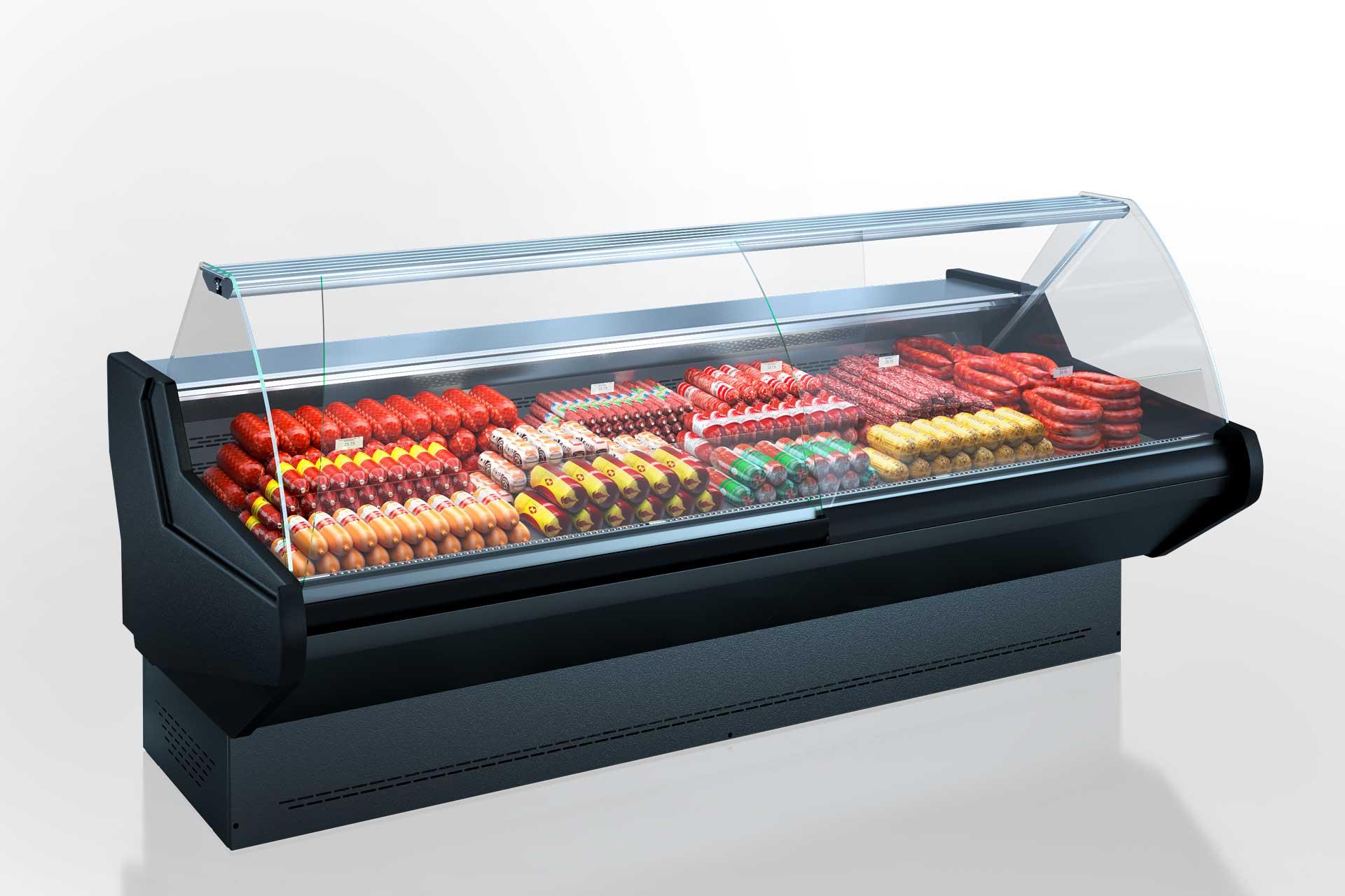 Холодильные витрины Georgia AG 120 deli OS 122-DBA