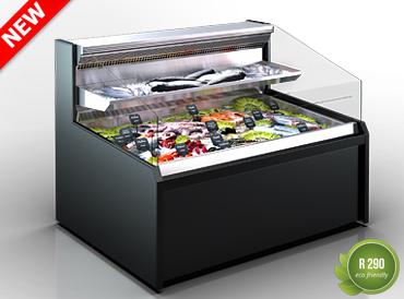 Холодильная витрина Missouri AC 120 cascade fish self 120-DPLM/DPLA