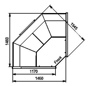 Refrigerated counters Missouri АC 120 deli PS 130-SBА-IS90
