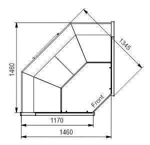 Холодильная витрина Missouri АC 120 deli PS 130-SBА-IS90