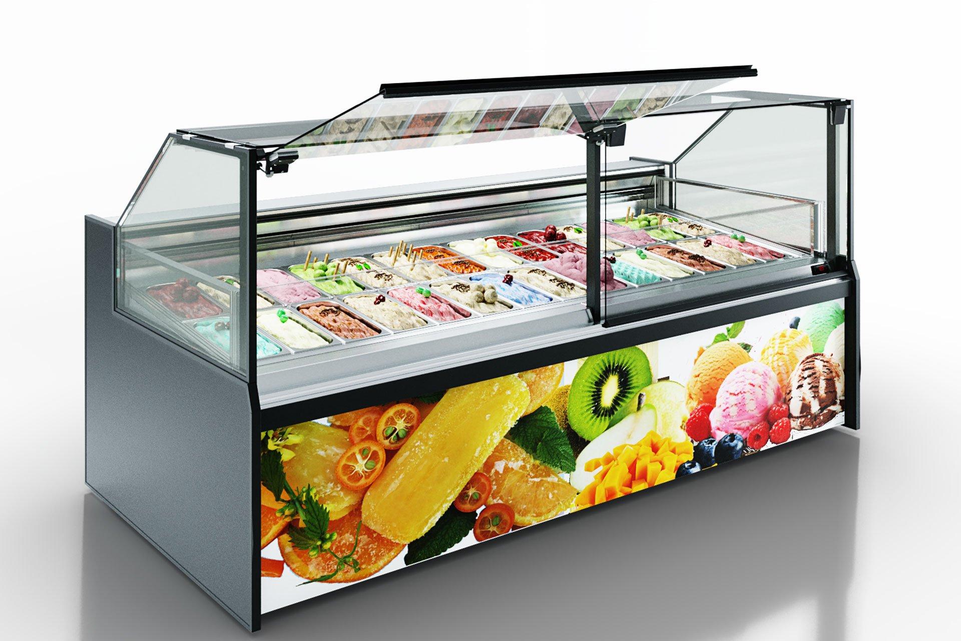 Counters Missouri AC 120 ice cream PS 130-DLA
