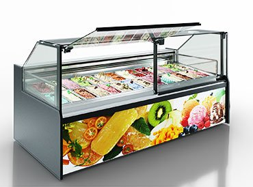 Counters Missouri AC 120 ice cream PS 130-DLA