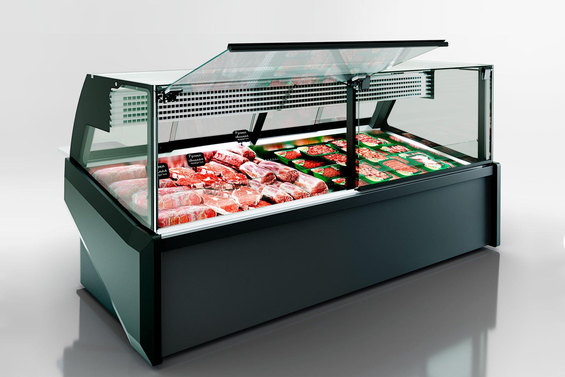 Kühlvitrinen Missouri AC 120 meat PS 130-SLA