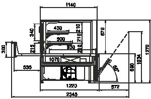 Kühlvitrinen Missouri AC 120 patisserie OS 130-DLA
