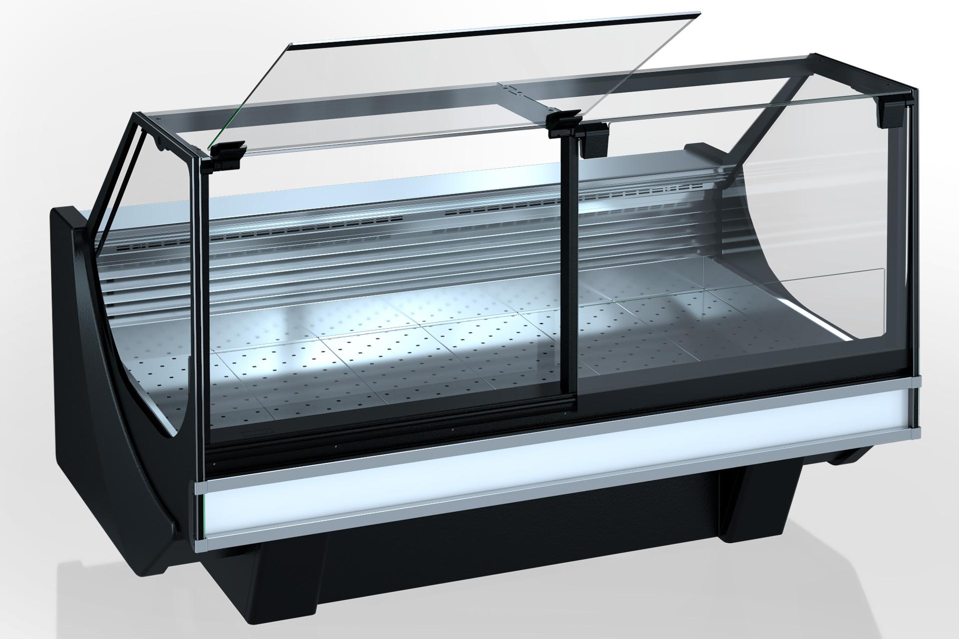 Холодильная витрина Missouri cold diamond MC 126 fish PS 130-SPLM/SPLA