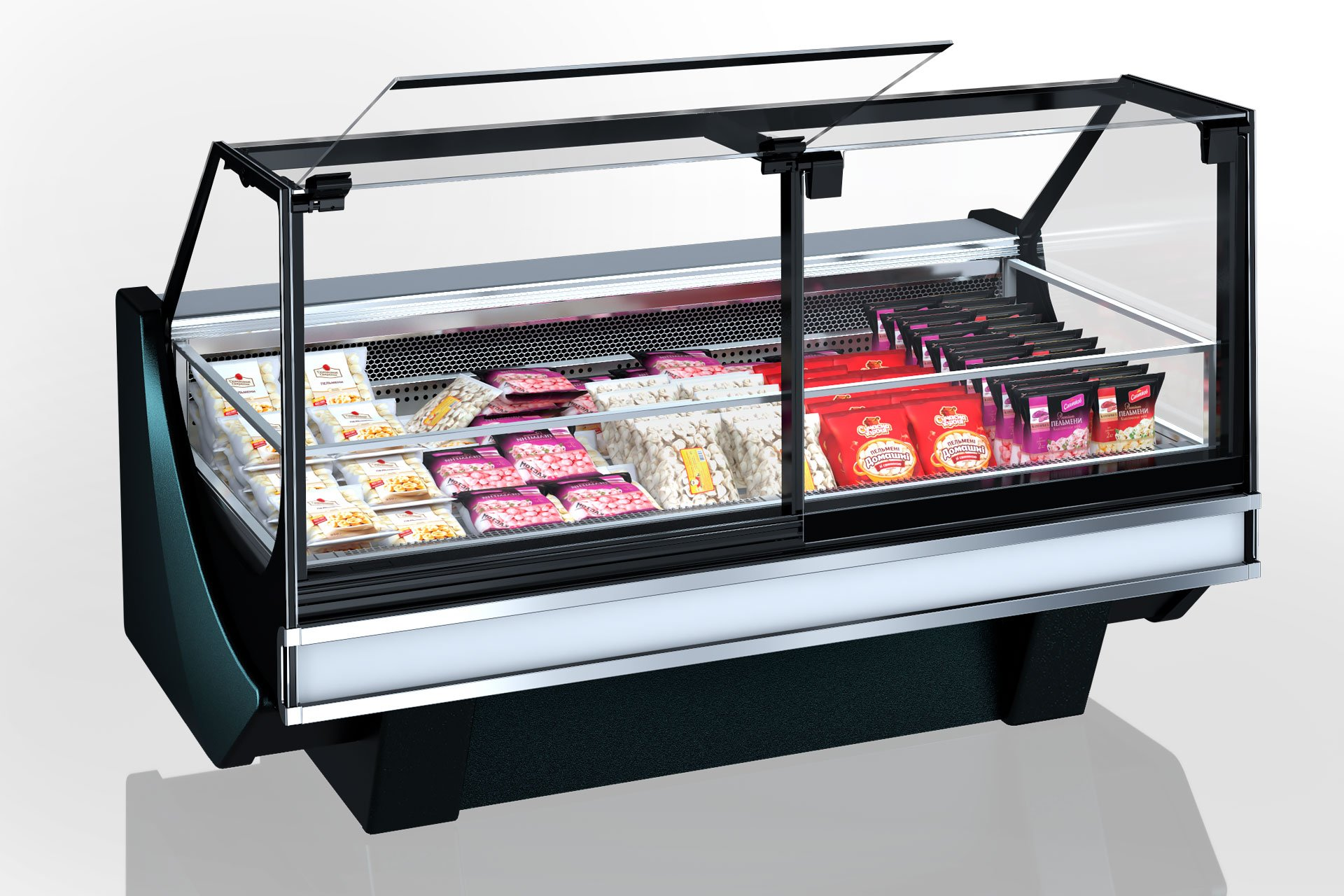 Refrigerated counter missouri cold diamond MC 126 LT PS