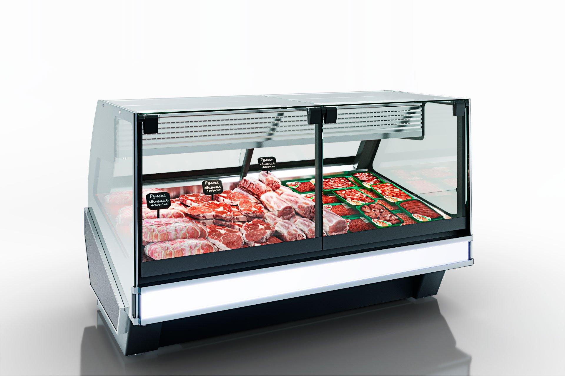 Kühlvitrinen Missouri cold diamond MC 115 meat PS 121-SLM-SLA