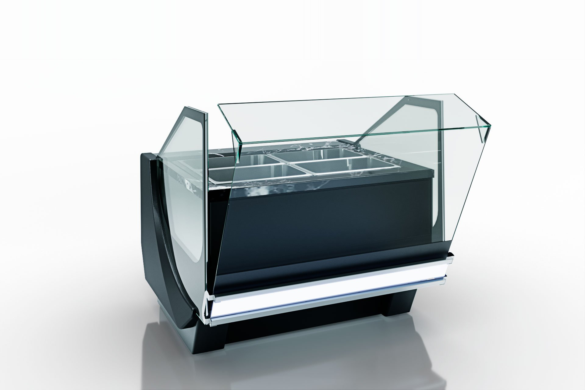 Kühlvitrinen Missouri cold diamond MC 115 pickles OS 121-SLM/SLA