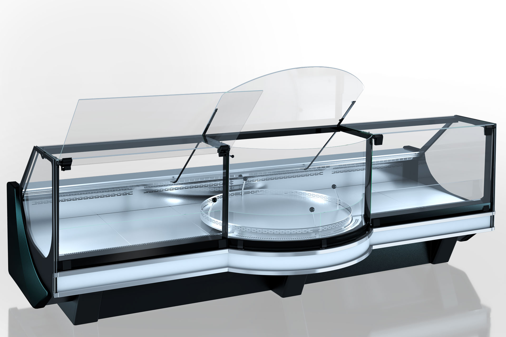 Refrigerated counters Missouri cold diamond MC 126 accent PS/P 130-DBM