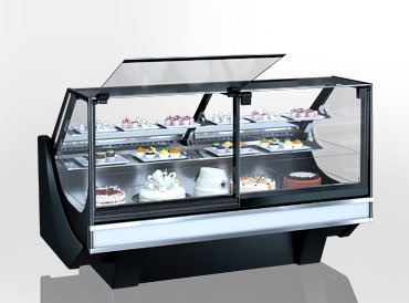 Kuhlvitrinen Missouri cold diamond MC 125 patisserie PS M