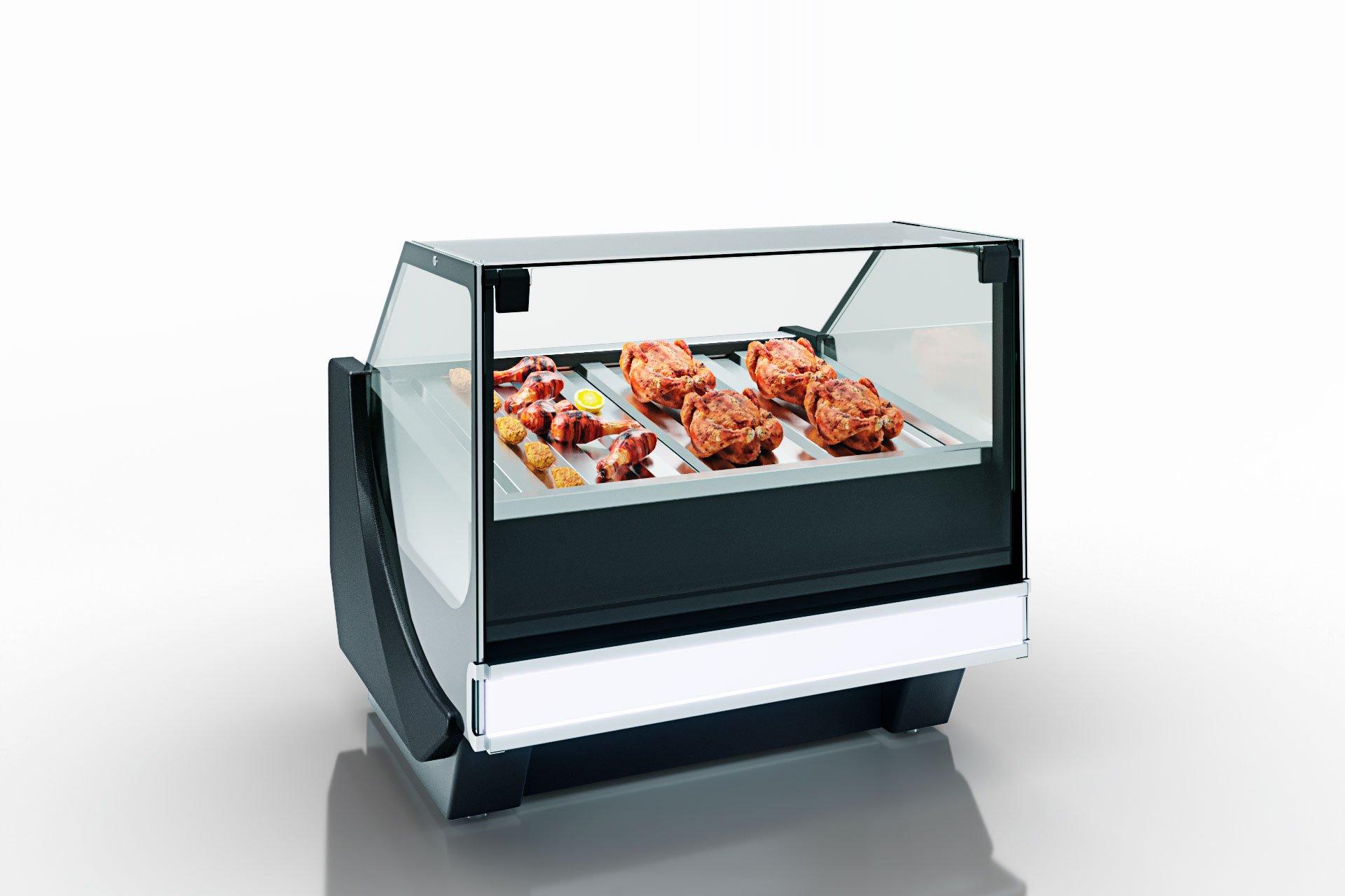 Wärme-Vitrine Missouri cold diamond NC 115 heat grill PS 121