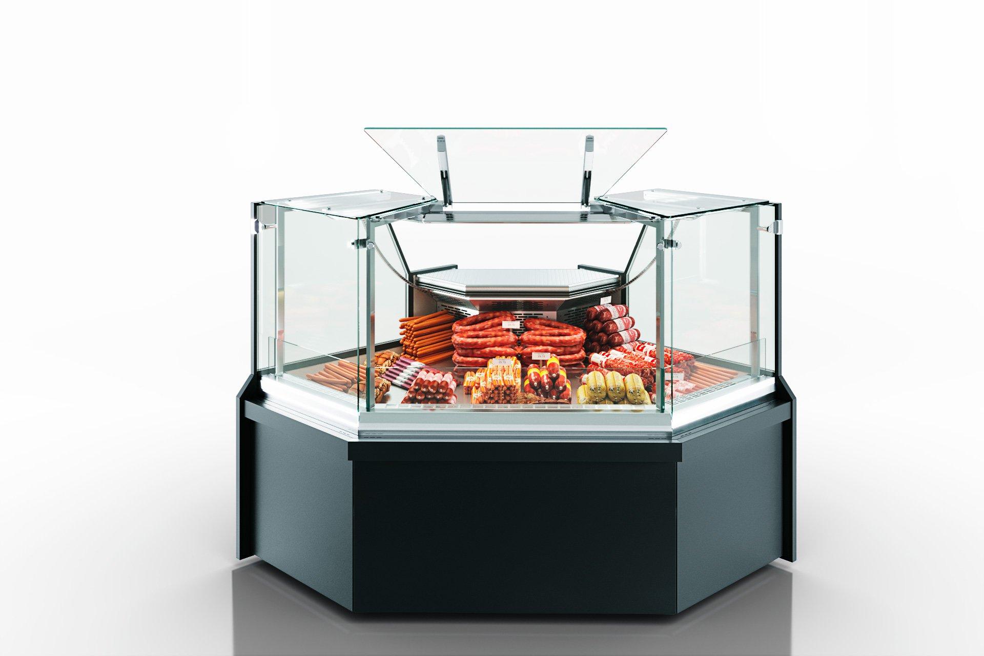 Холодильнi вітрини Missouri MC 100 deli PP/PS/self M/A - кутовi елементи