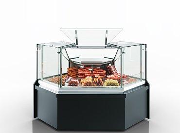 Refrigeration сounters Missouri MC 100 deli PP/PS/self M/A - angular elements
