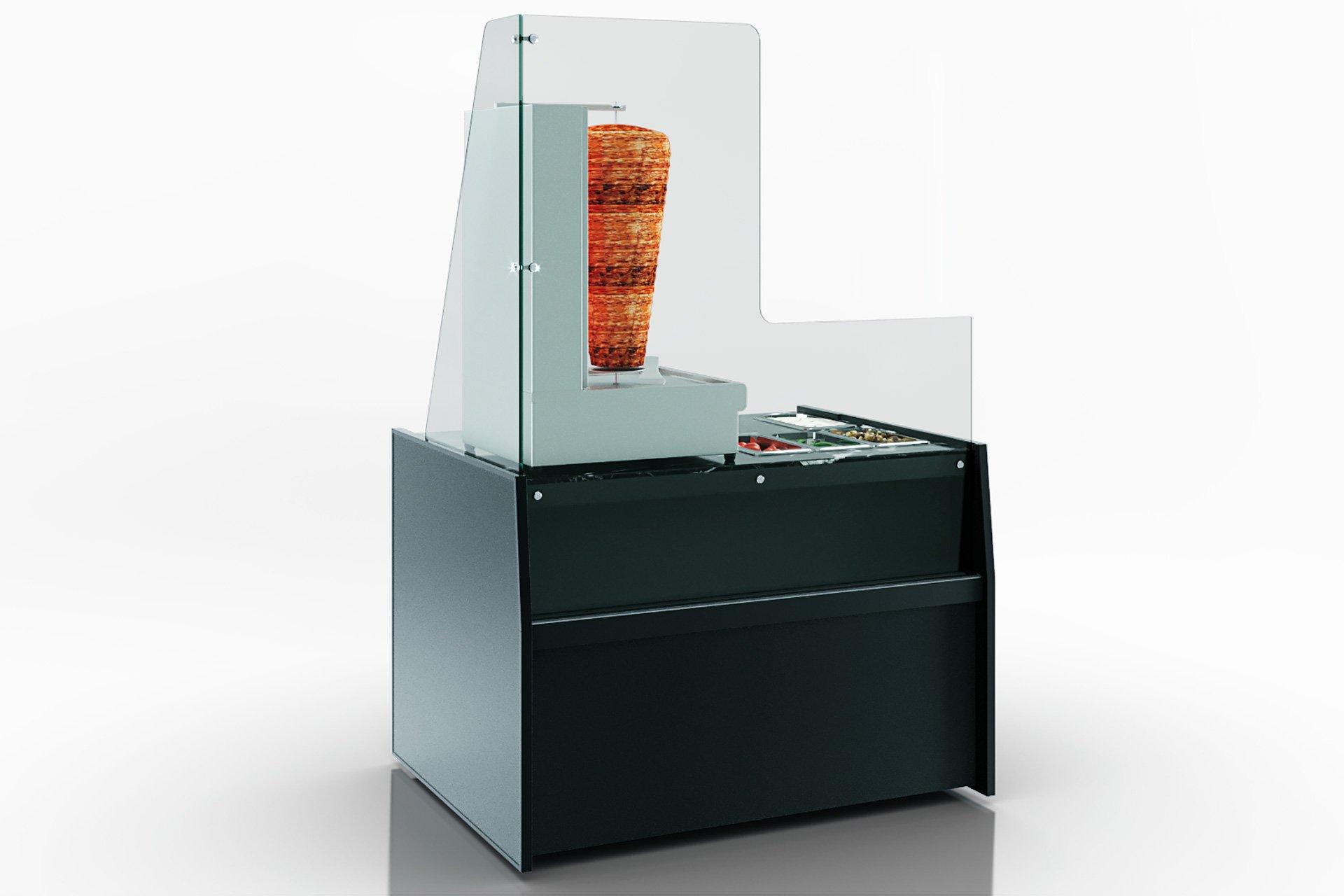 Kühlvitrinen Missouri MC 100 shawarma 200-DBA