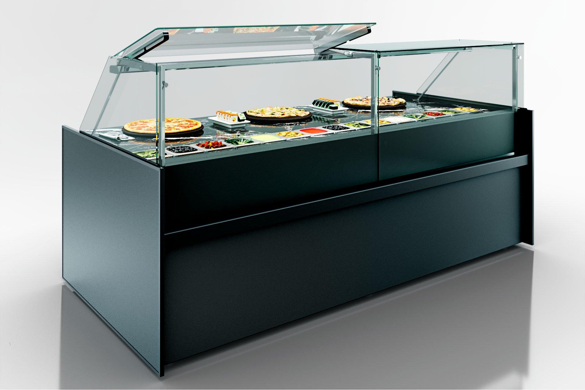Kühlvitrinen Missouri MC 120 sushi/pizza PP 130-DBM