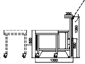 Kühlvitrinen Missouri NC 120 CB PS 104