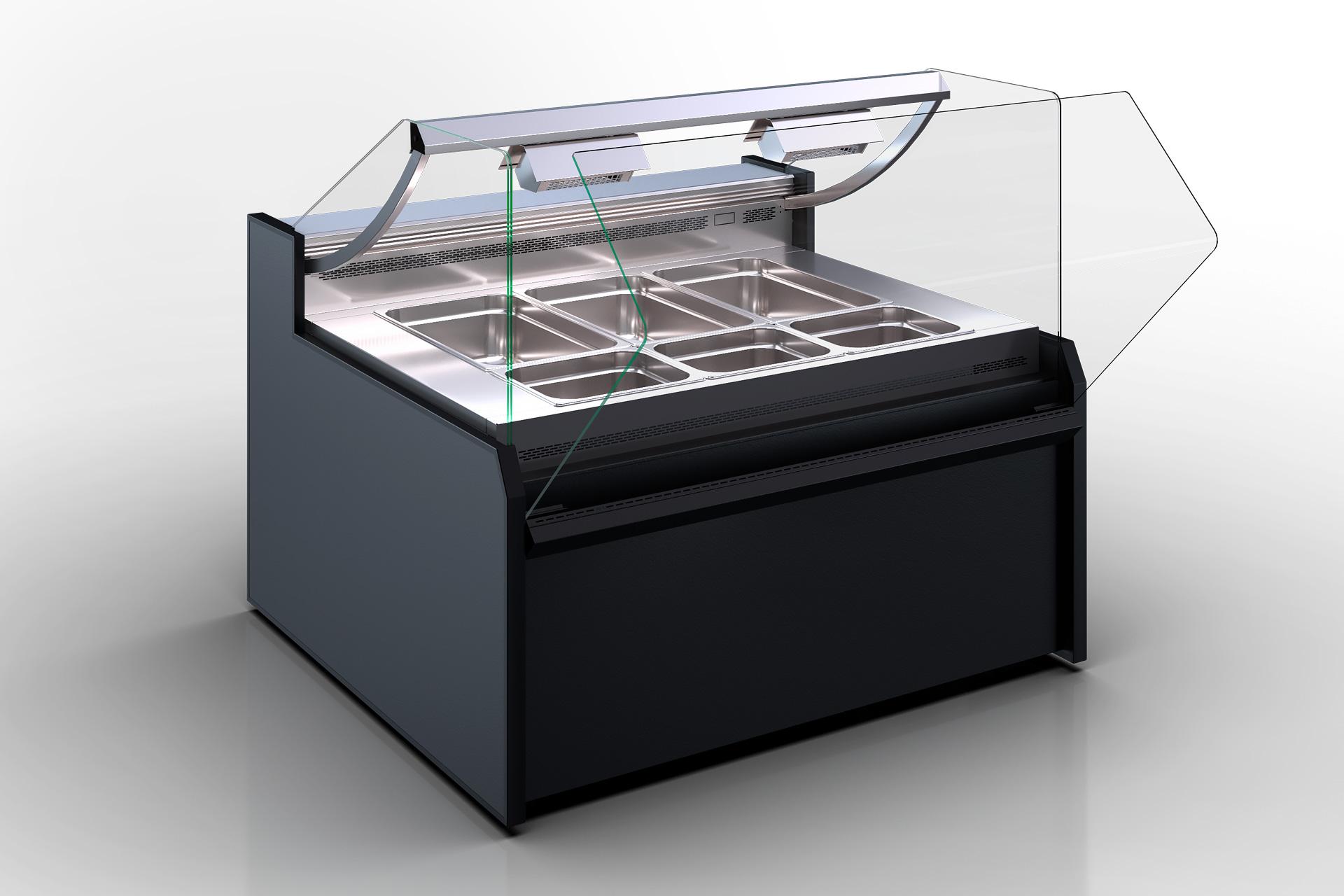 Wärme-Vitrine Missouri NC 120 heat BM OS 120