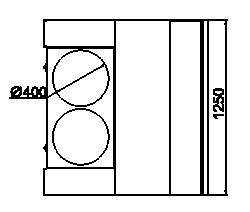 Kühlvitrinen Missouri NC 120 grill PS 130