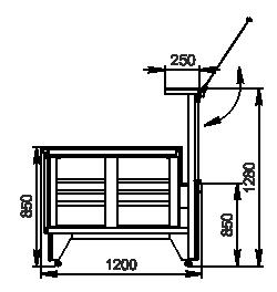 Kühlvitrinen Missouri NC 120 PS 130-ES23