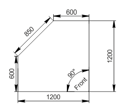 Kühlvitrinen Missouri NC 120 self 085-IS90