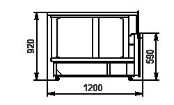 Winkelelement Missouri NC 120 self 092-ES90