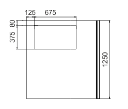 Kühlvitrinen Missouri NС 120 FS L 1 130